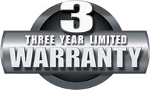 Three Year Limited Warranty